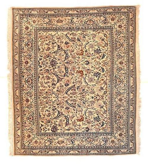 Antique Hand Made Nain Persian Rug