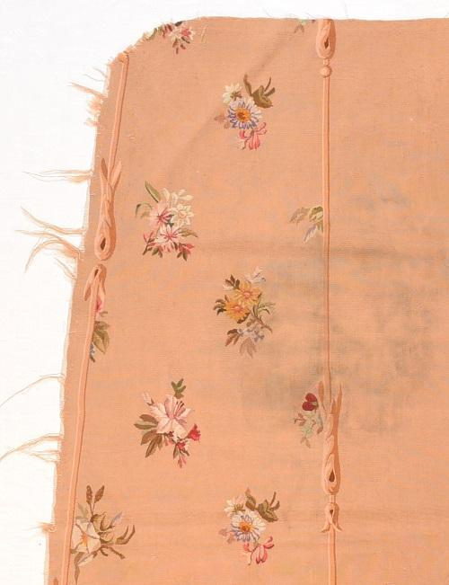 "Antique French Aubusson Tapestry, Size 2'5"" x 4'6"""