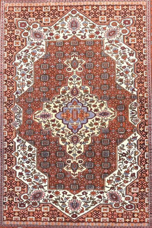 Semi Antique Persian Qashqai Rug