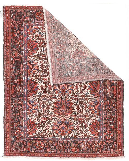 Semi Antique Persian Karajeh Rug