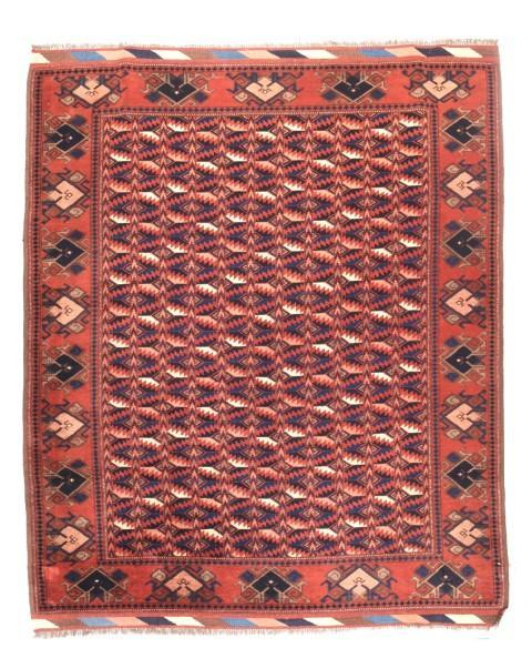 Semi Antique Hand Made Afghani Afghanestan Rug