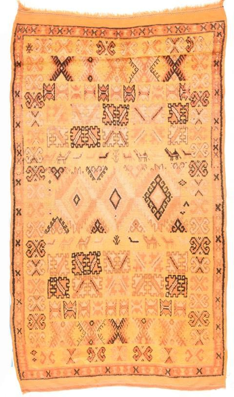 Antique Morrocan Marakesh Rug