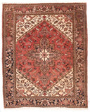 Semi Antique Hand Made Heriz Persian Rug