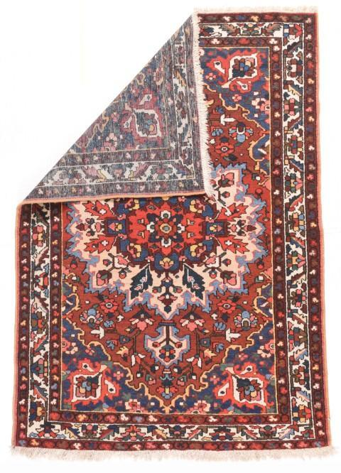 Semi Antique Hand Made Bakhtiari Persian Rug