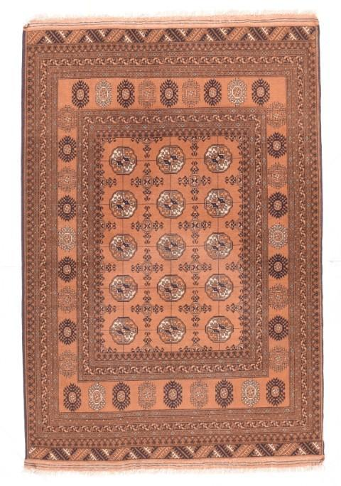 Semi Antique Hand Made Bukhara Afghanestan Rug