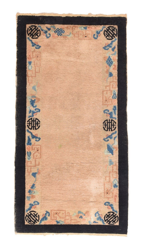 Antique Hand Made Peking Chinese Rug