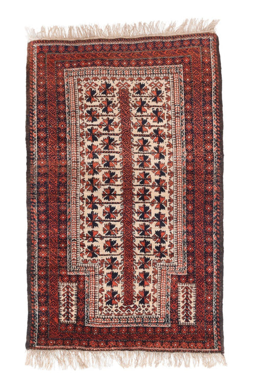 Antique Hand Made Baluch Persian Rug