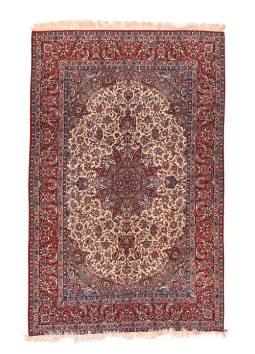Antique Hand Made Isfahan Persain Rug