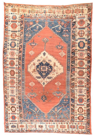 Antique Persian Sarouk Rug
