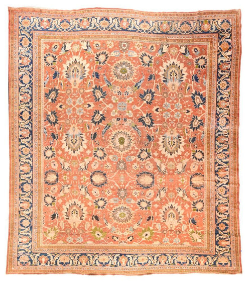 Antique Hand Made Sultanabad Persian Rug