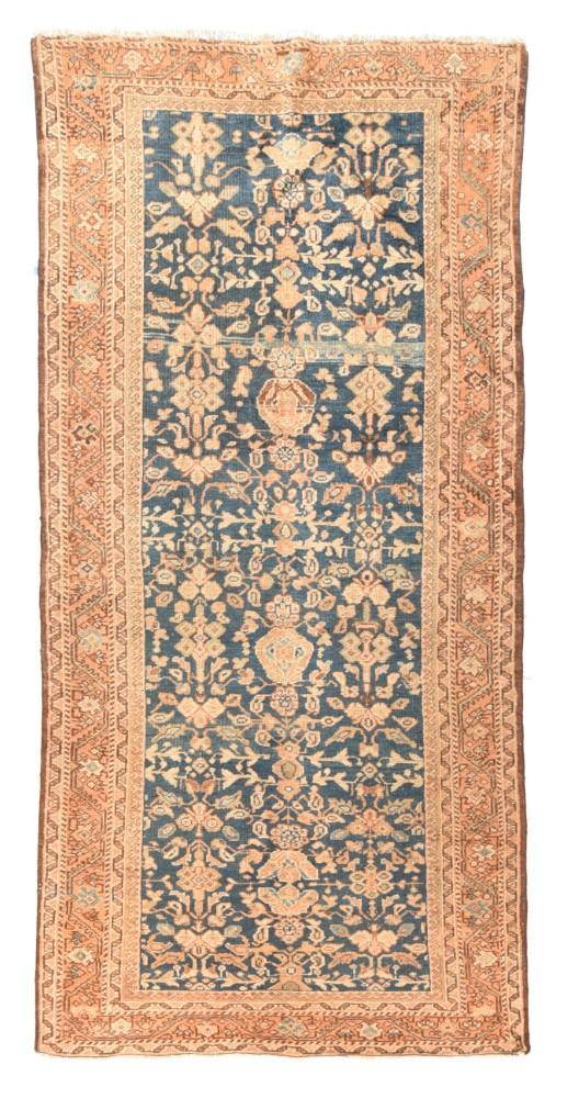 Antique Tribal Hand Made Mahal Sultanabad Persian Rug