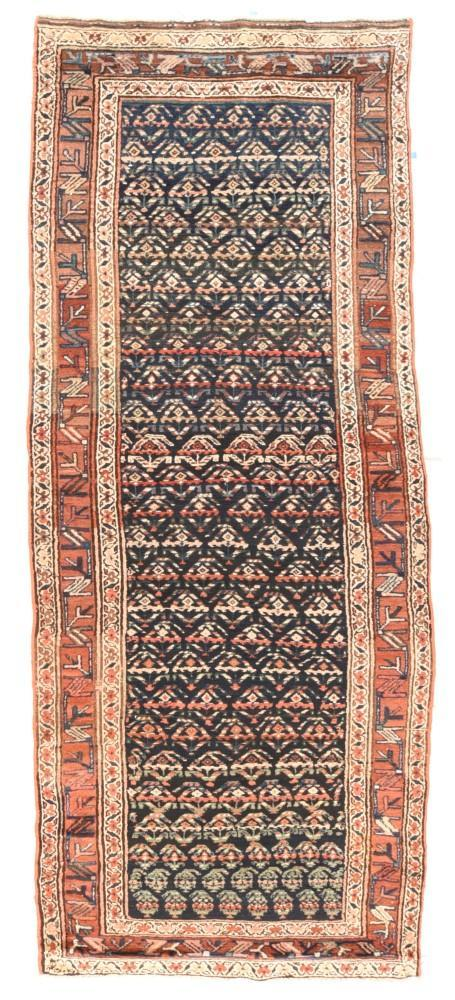 Antique Tribal Hand Made N.W Persia Persian Rug