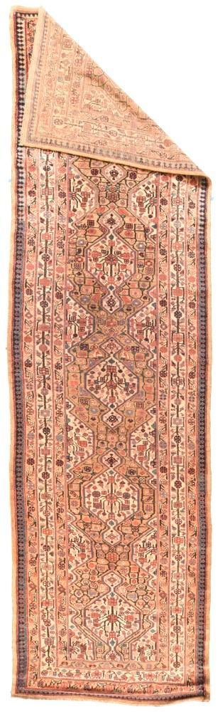 Antique Tribal Hand Made Sarab Persian Rug