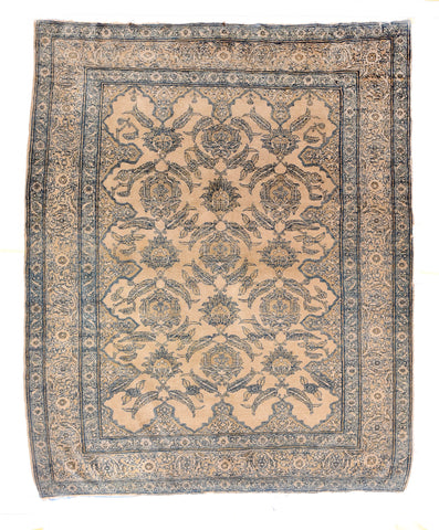 Antique Hand Made Yamud Russian Rug