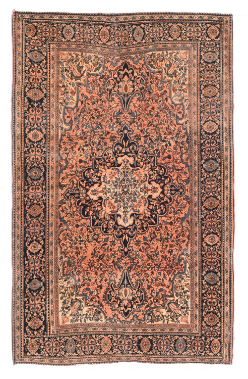Antique Hand Made Sultandabad Persian Rug