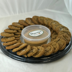 Ginger Cookie/Pumpkin Dip Party Tray