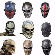 Full Face Camouflage Ghost Tactical Mask