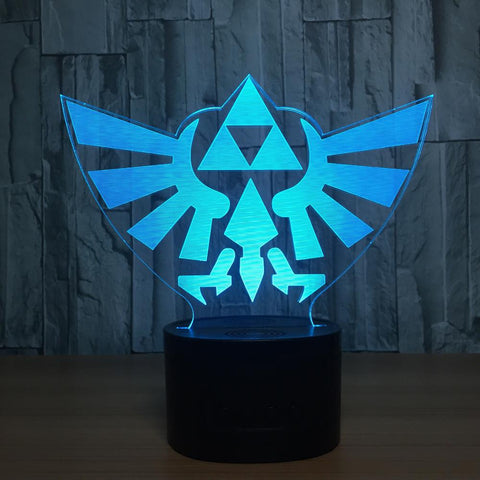 Premium 3D LED Hyrule  Light