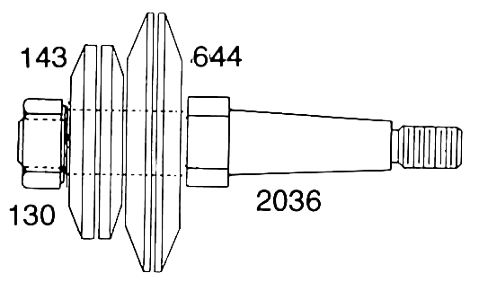 Themac 2036 Spindle Extension