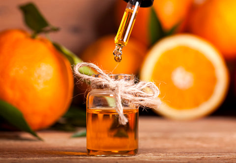 Heal Your Skin, Glow and Get Calm, with Orange Peel Oil
