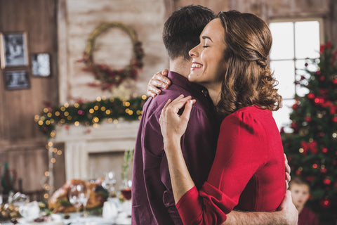 Why A Hug For The Holidays Might Be the Best Gift of All
