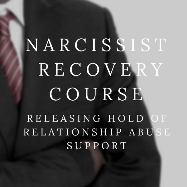 12 Step| Narcissist Recovery Program