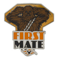Star Wars Chewbacca First Mate Pin