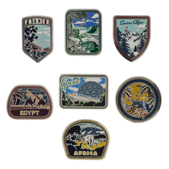 Walt Disney World Soarin' Mystery Pins
