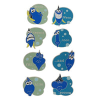 Dory Speaking Whale Mystery Pins