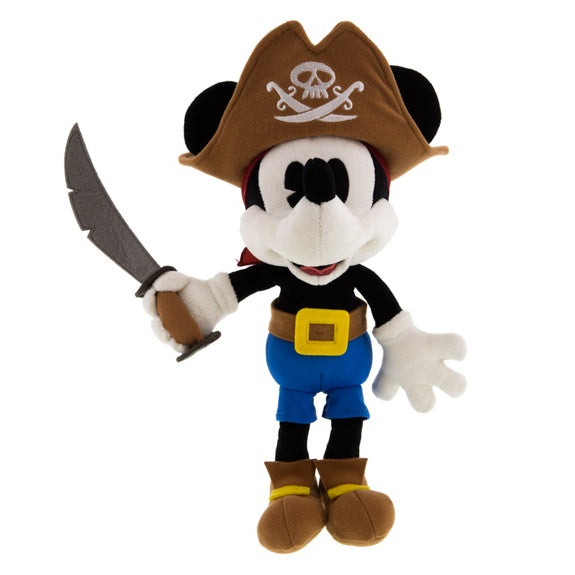 Pirates Mickey Plush 9""