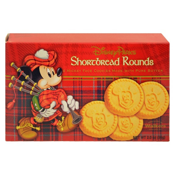 Walkers Mickey Shortbread Rounds 2 oz