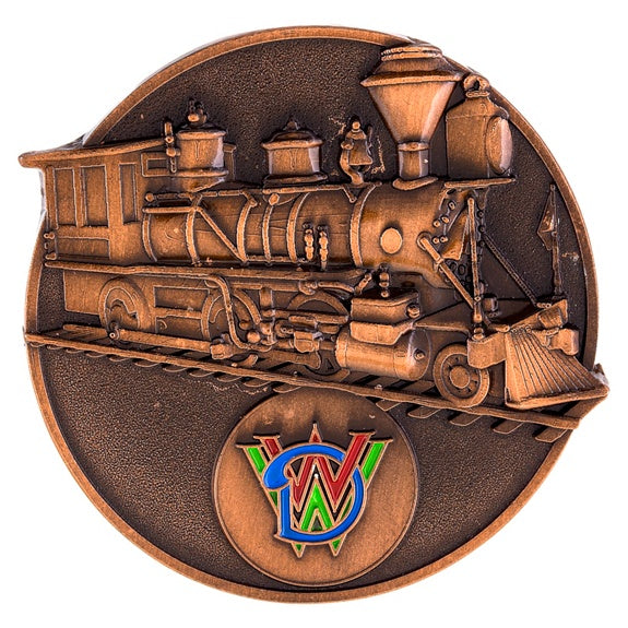Walt Disney World Train Sculpted Pin