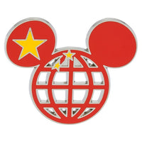 Mickey Icon China Flag Pin