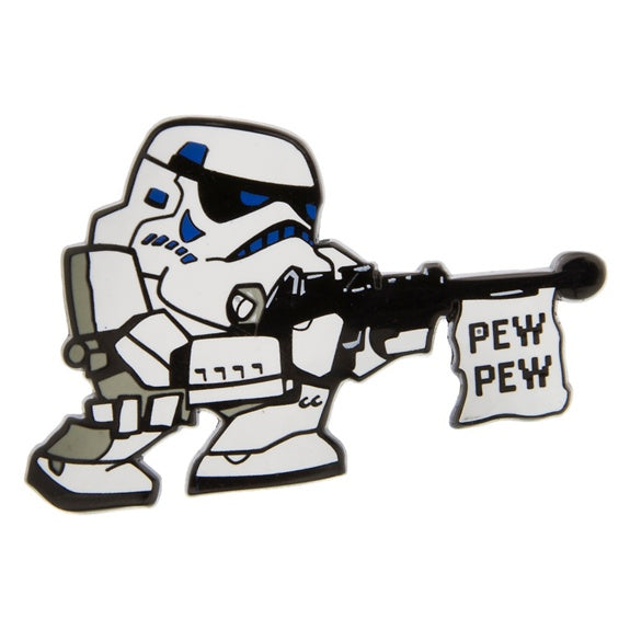 Star Wars Stormtrooper Pew Pew Pin