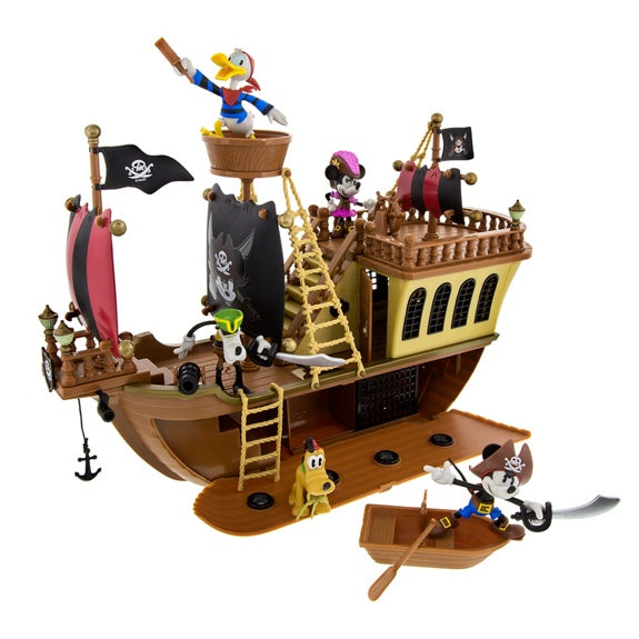 Pirates Mickey Pirate Ship Play Set