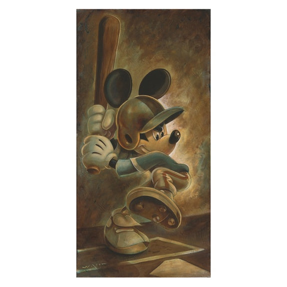 Batter Up Mickey Giclee' by Wilson