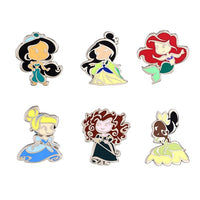 Princess Cute Mini Pin Set