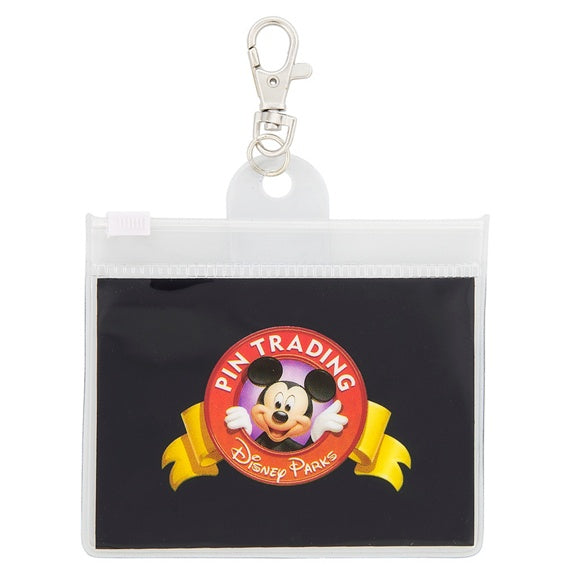 Mickey Pin Trading Lanyard Pouch