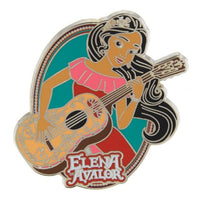 Elena of Avalor with Guitar Pin