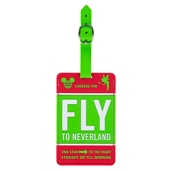 Disney TAG Fly to Neverland Luggage Tag