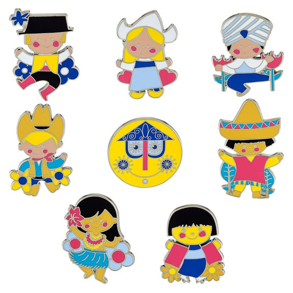 it's a small world Mystery Pins