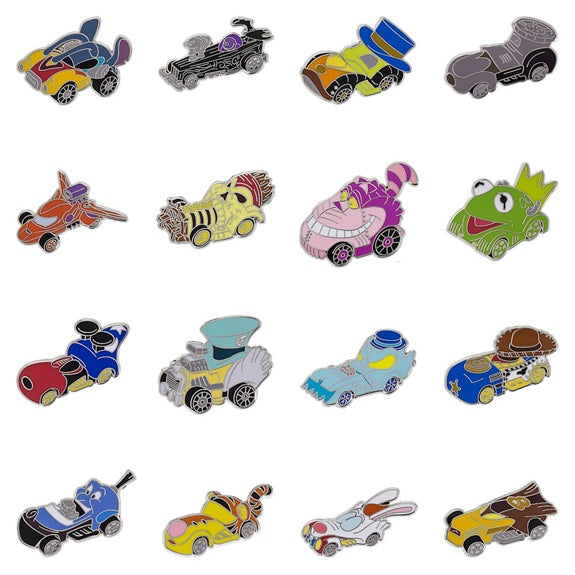 Disney Racers Mini Mystery Pins