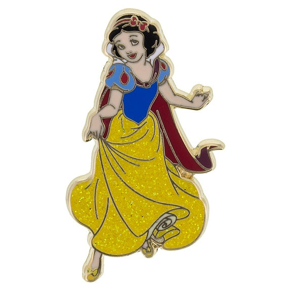 Snow White Glitter Pin