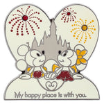 Mickey & Minnie Happy Place Pin