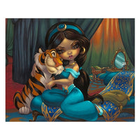 Jasmine Rajah Print by Becket-Griffith