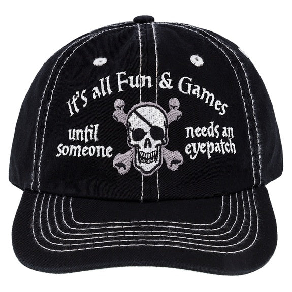 Pirate Eye Patch Baseball Cap