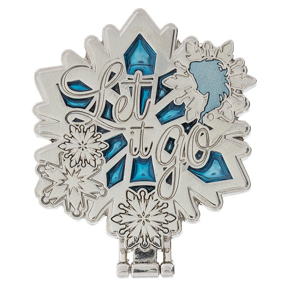 Frozen Let It Go Snowflake Pin