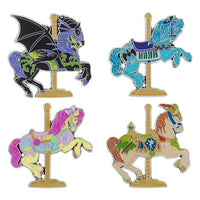 Carousel Horse Pin Set