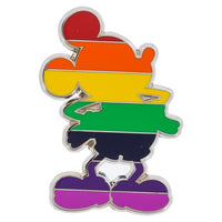 Mickey Rainbow Pin