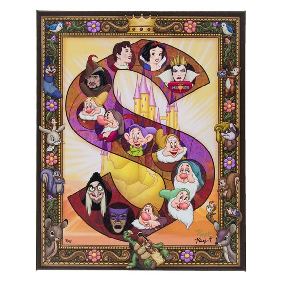 Snow White S Canvas Wrap by Yamada
